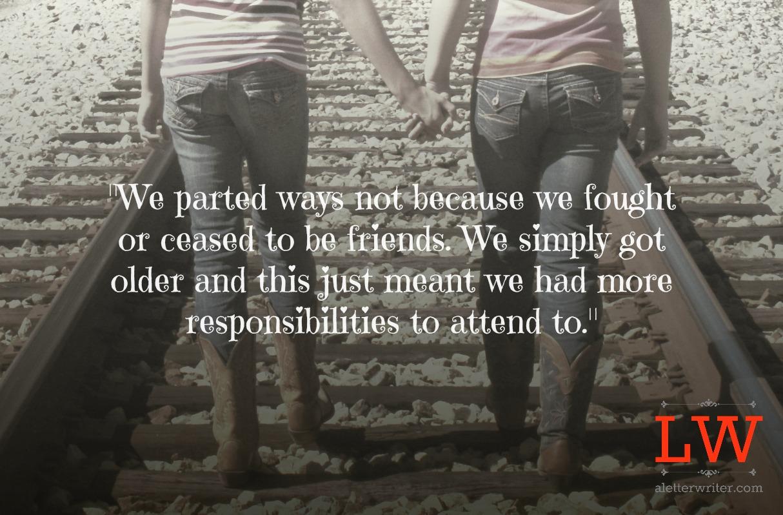 Quotes About Lost Friendship Quotesgram: Lost Quotes. QuotesGram
