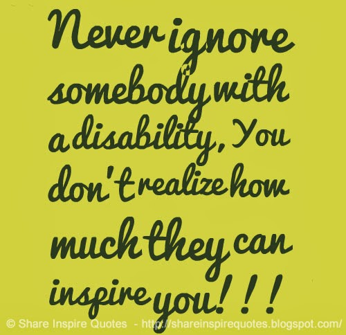 quotes about disabilities quotesgram