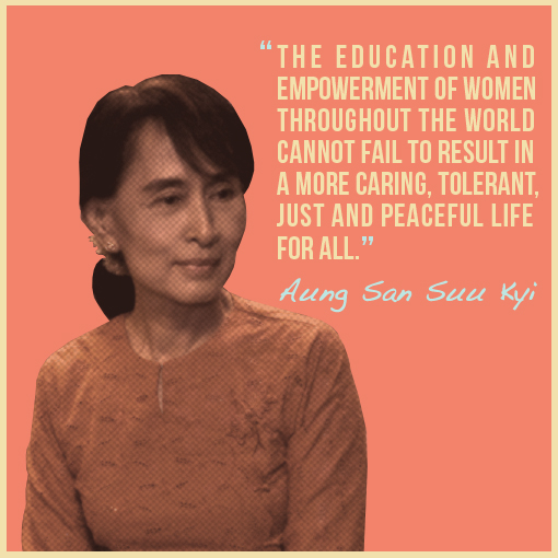 aung san suu kyi 3 Myanmar's de facto leader aung san suu kyi is to miss next week's un general assembly debate as criticism of her handling of the rohingya crisis grows some 370,000 rohingya muslims have fled rakhine state for bangladesh since the outbreak of violence last month.