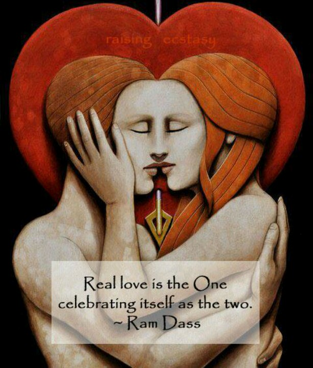 Love Each Other When Two Souls: Ram Dass Quotes On Love. QuotesGram