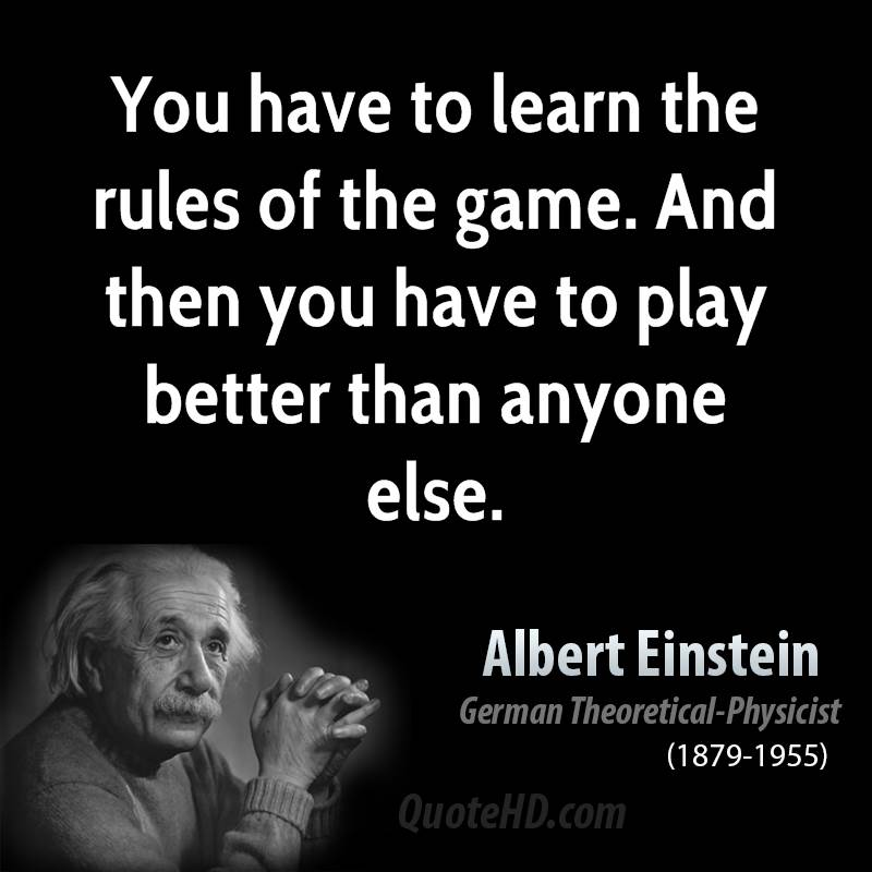 learning and albert einstein Albert einstein the only thing that interferes with my learning is my education.
