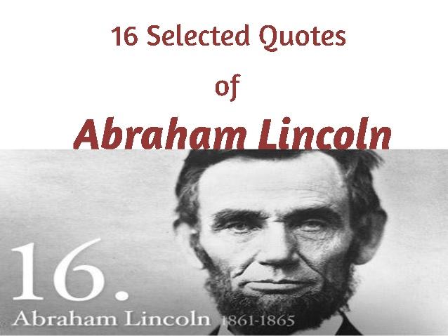 Abraham Lincoln Quotes. QuotesGram