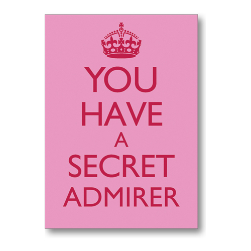 Secret Admirer Quotes And Sayings. QuotesGram