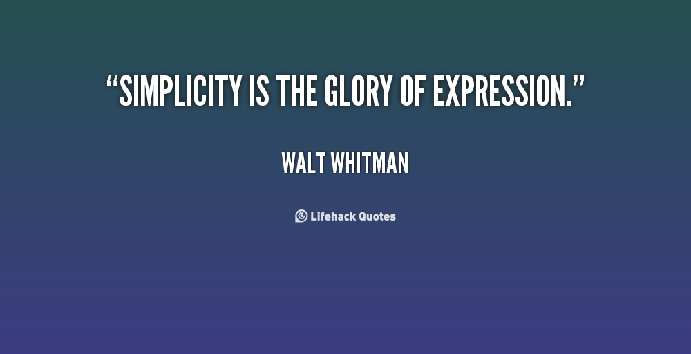 definitions of beauty in whitman and World or man has whitman believes that truth and beauty are attributes of man's experiences and of the universe meaning in whitman's poetry.