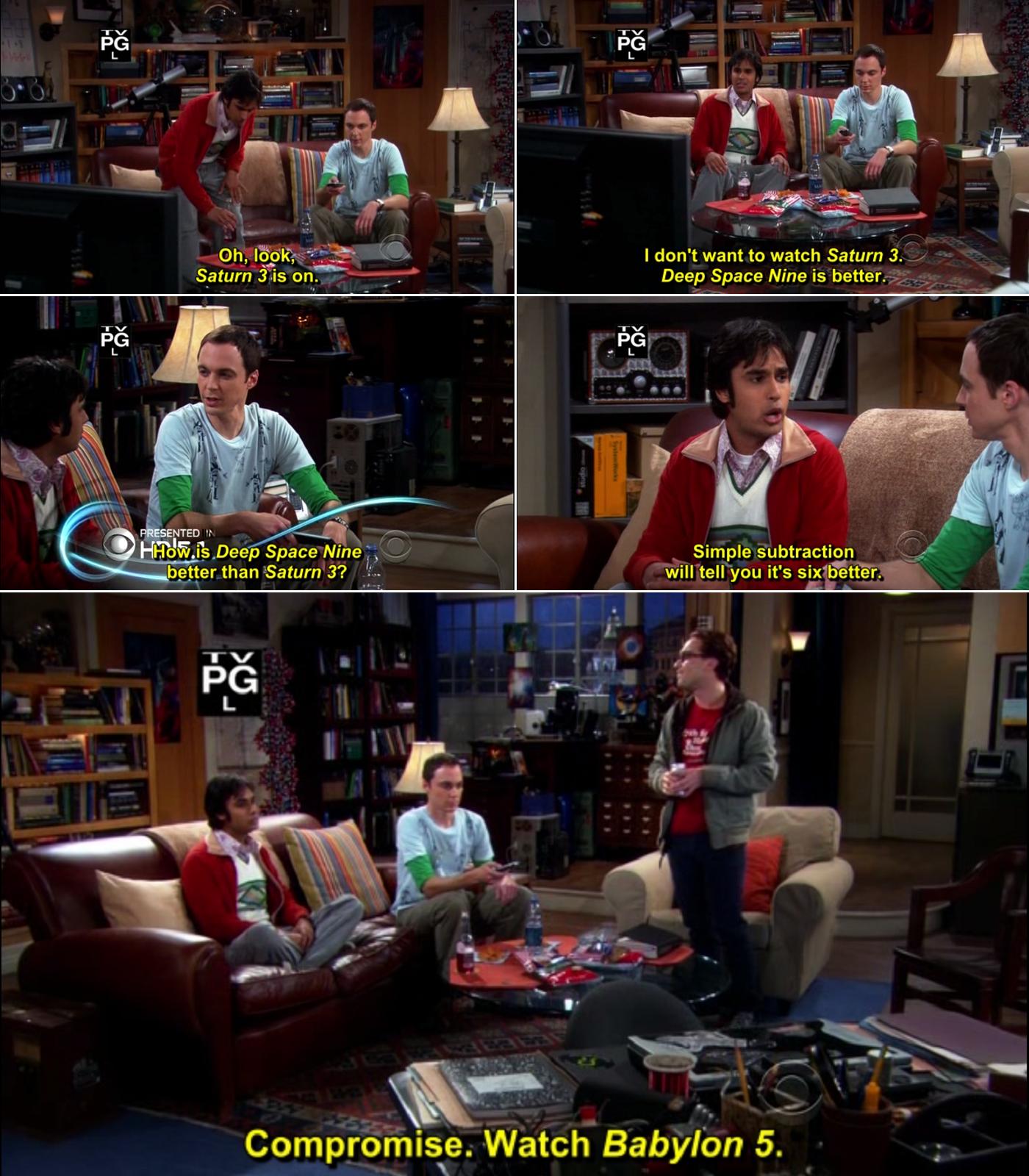 Big bang theory quotes