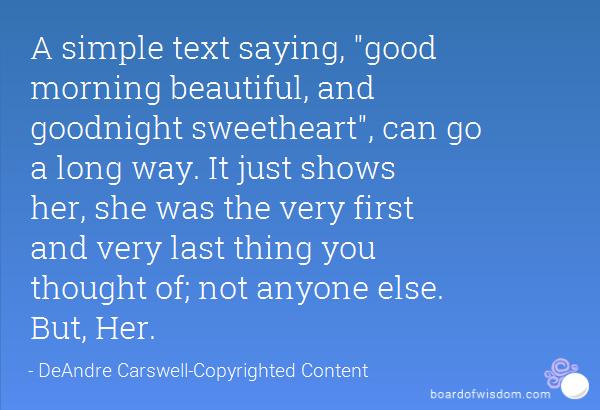 Good Morning Beautiful Text Quotes. QuotesGram