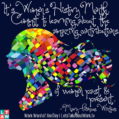 2014 womens history month quotes quotesgram