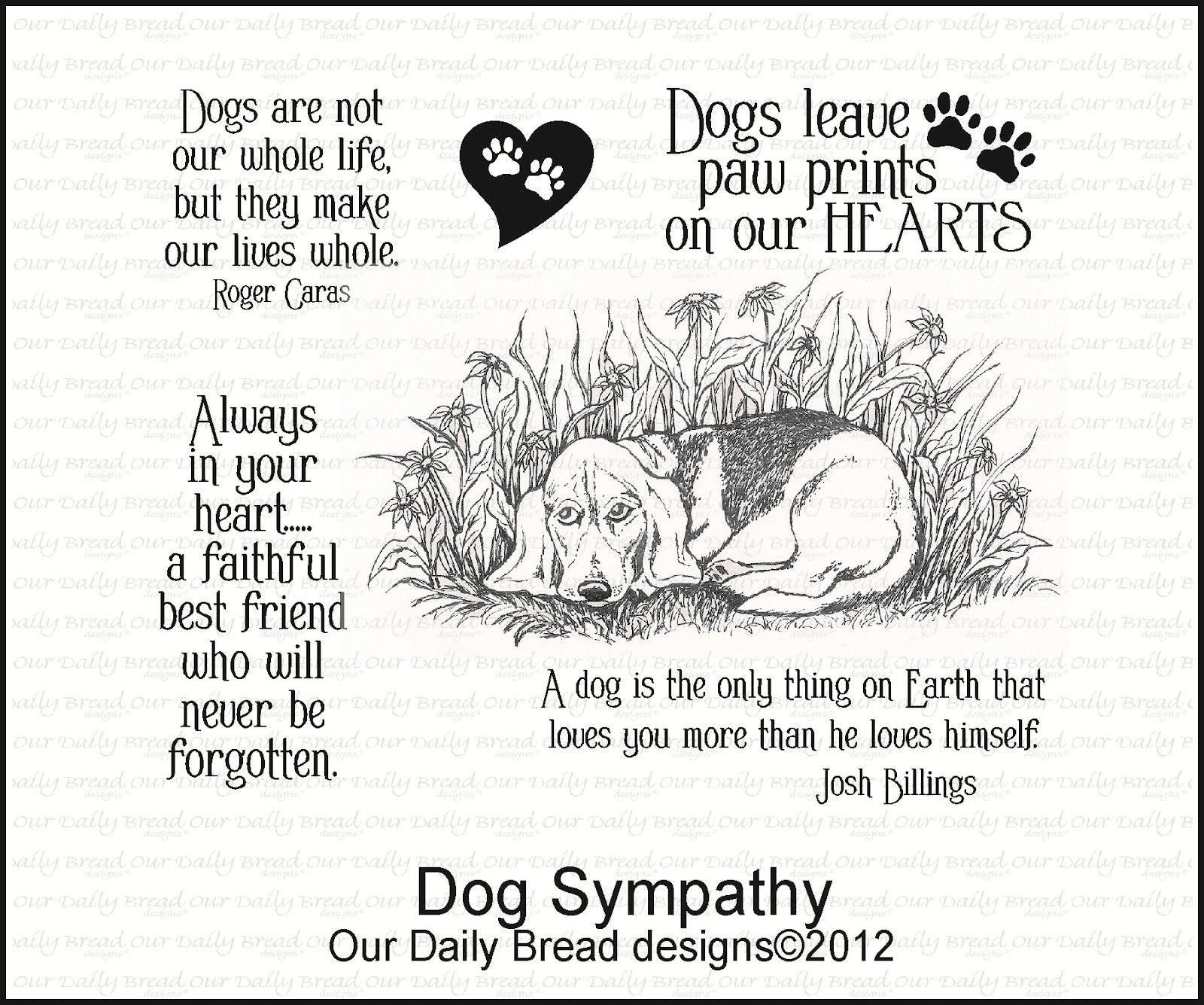 Sympathy Dog Quotes: Sympathy Quotes Loss Of Pet. QuotesGram
