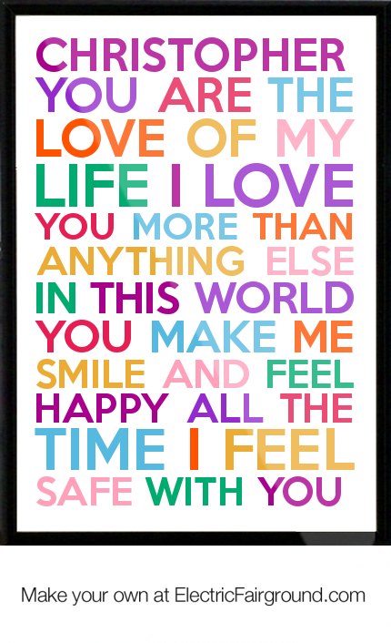 Cute Funny I Love You More Than Quotes : Christopher-you-are-the-love-of-my-life-i-love-you-more-than-anything ...