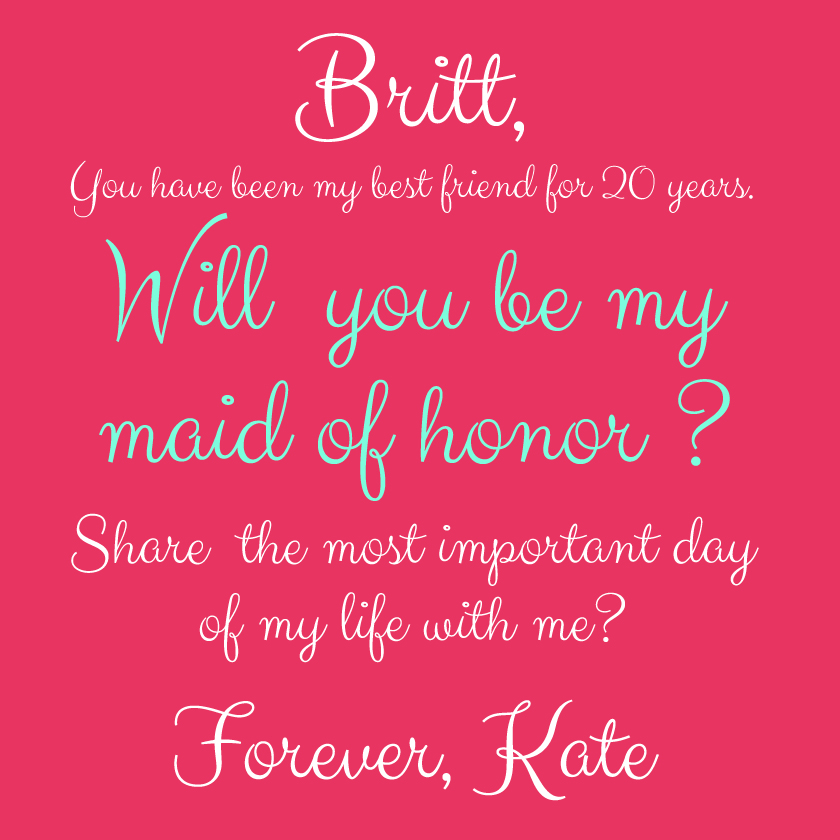 Friendship Quotes Maid Of Honor Speech: Quotes About Maid Of Honor. QuotesGram
