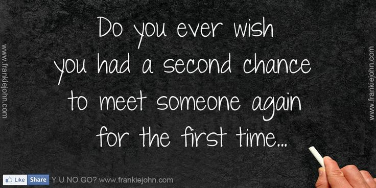 first meet someone