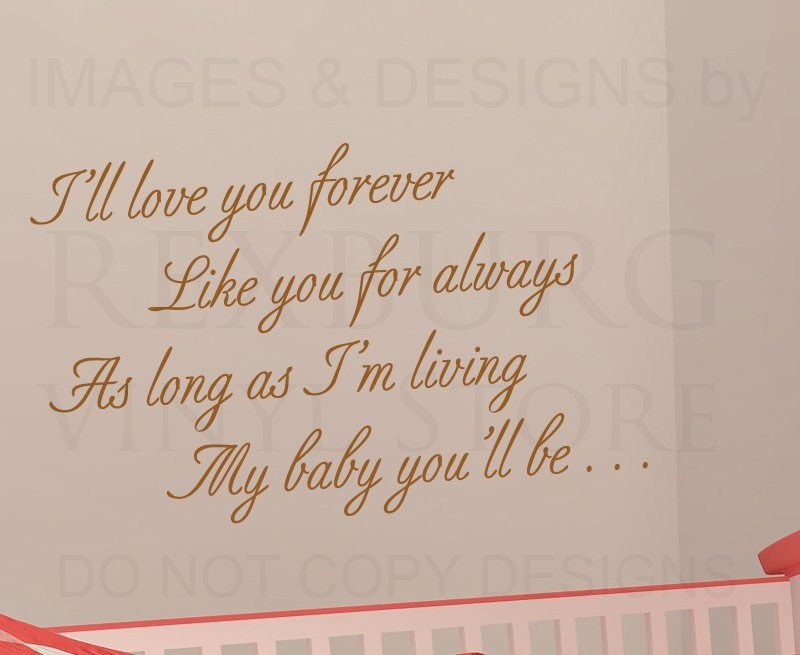 Ill Love You Forever Quotes