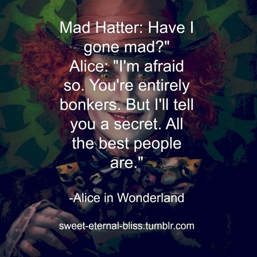 Best Alice In Wonderland Quotes. QuotesGram