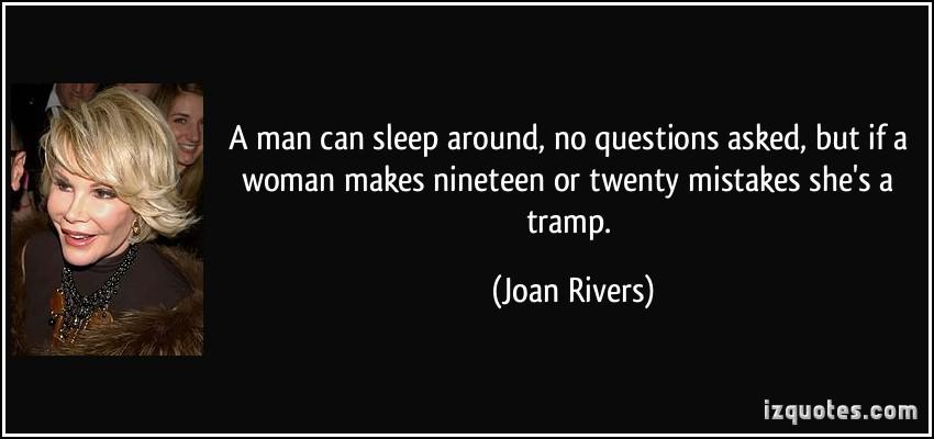 Dating a man who sleeps around
