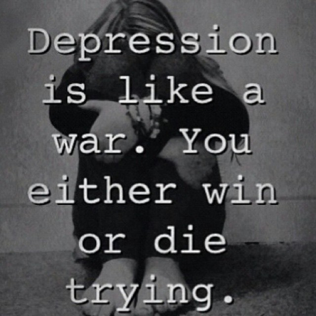 Saying Quotes About Sadness: Quotes About Depression And Coping. QuotesGram