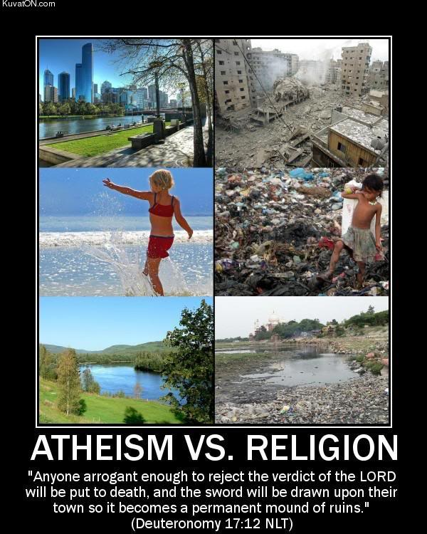 17 Kinds of Atheism