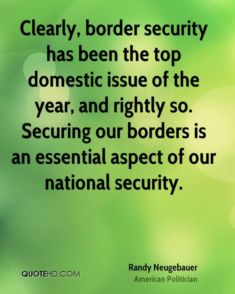 Secure Borders Quotes. QuotesGram