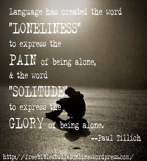 Loneliness Bible Quotes: Quotes On Loneliness And Solitude. QuotesGram