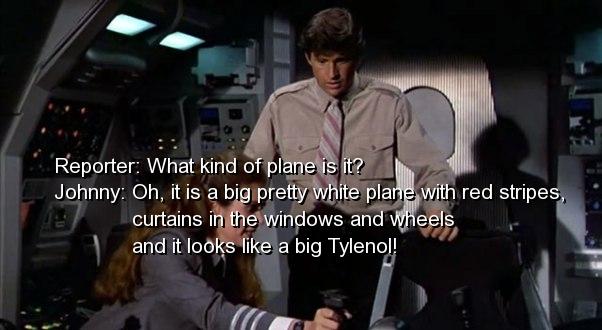 Airplane Movie Jive Quotes