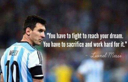 Inspirational Quotes From Lionel Messi. QuotesGramMessi Quotes About Life