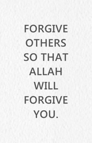 muslim quotes on forgiveness  quotesgram