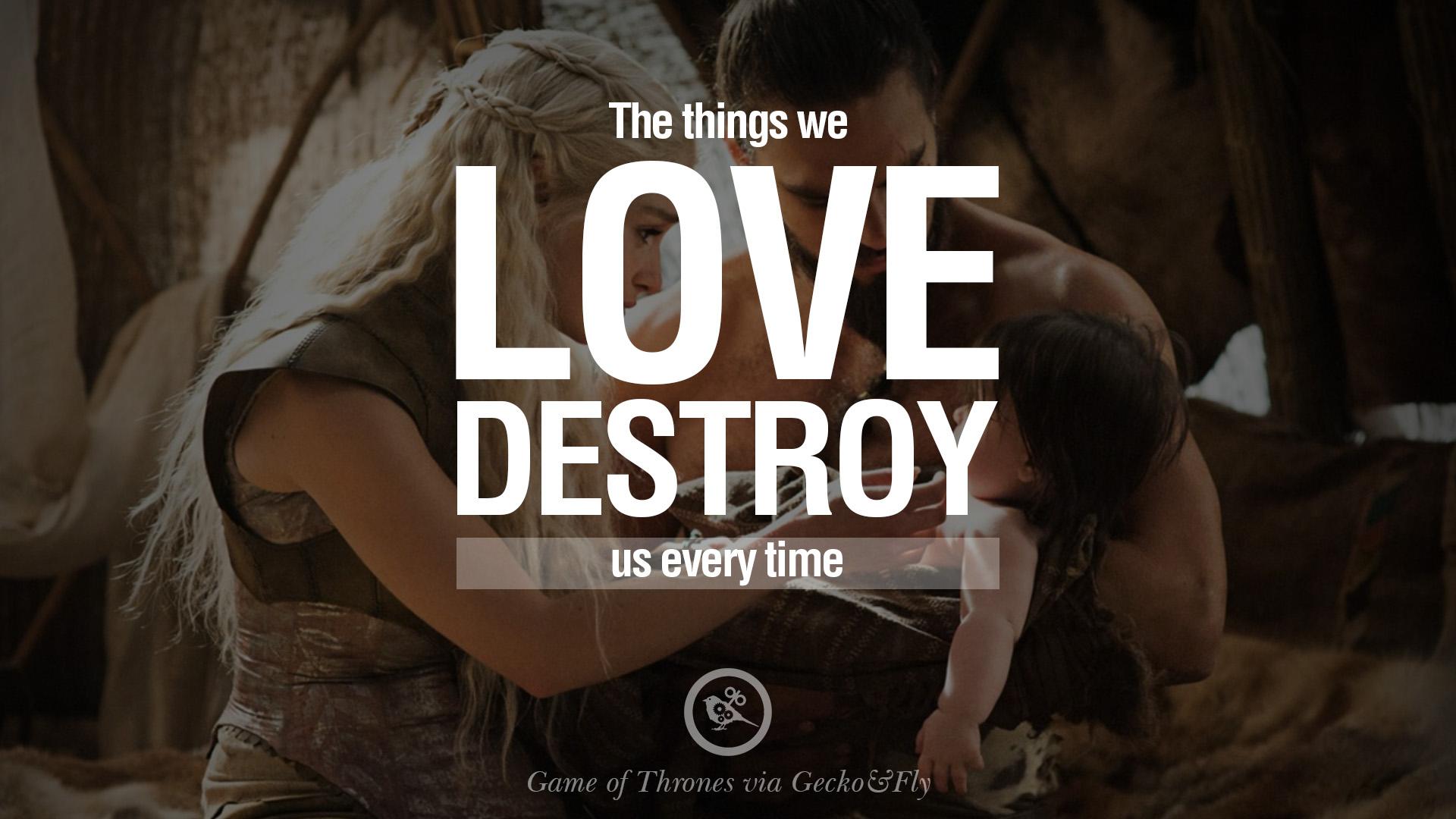 love quotes game of thrones quotesgram