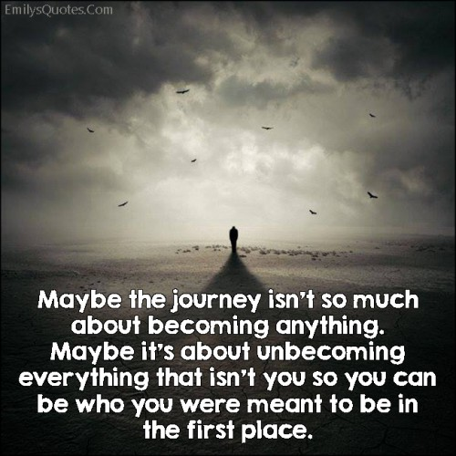 "journey to be oneself essay Why do you think fr lawton says the ""journey to be oneself"" seems the riskiest of all journeys what risks lie ahead in your college career as you embark o."