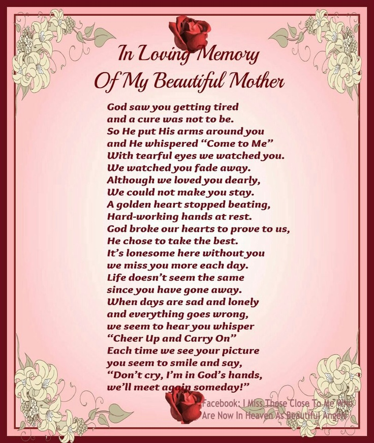 Mother In Law In Heaven Quotes Missing. QuotesGram