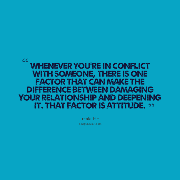 Quotes About Conflict Resolution. QuotesGram