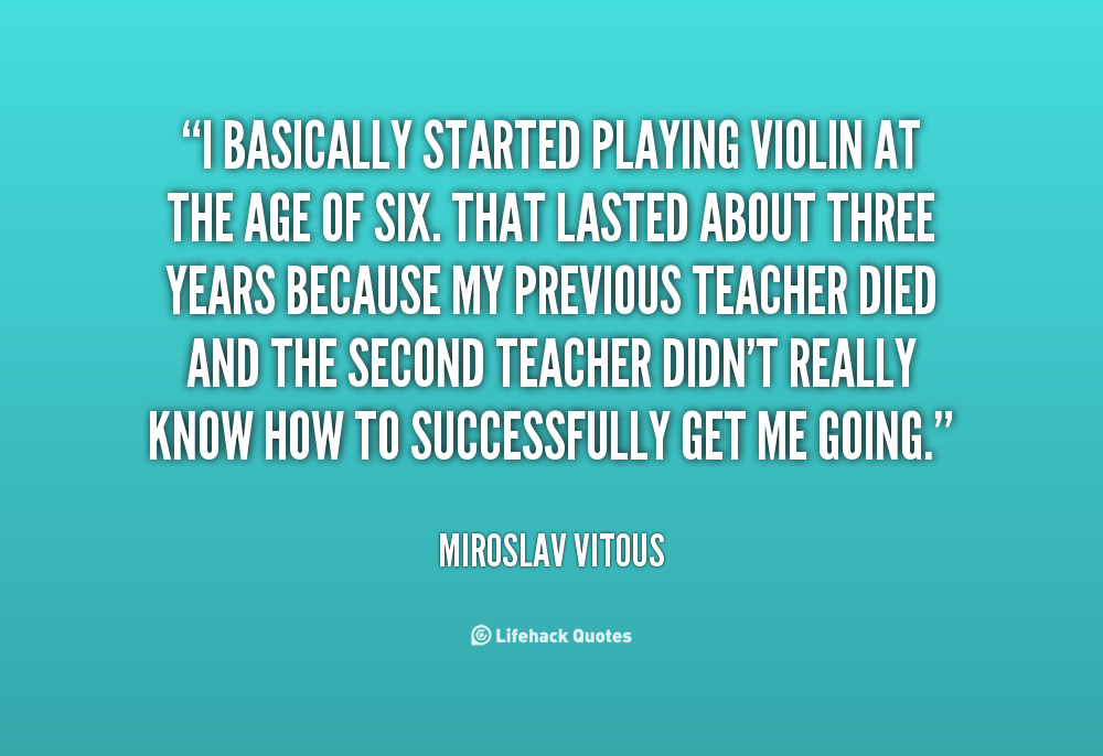 Quotes About Violinists