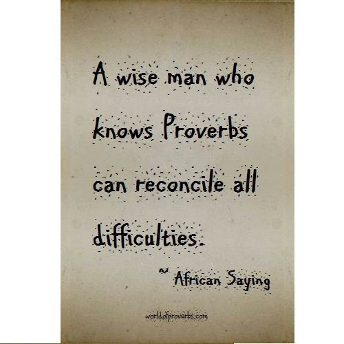 Proverbs Quotes. QuotesGram
