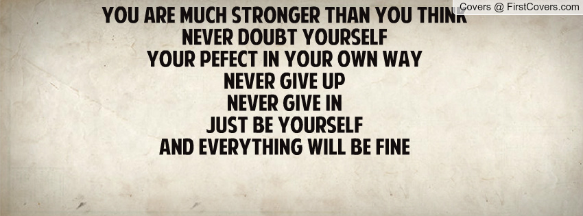 Never Doubt Yourself Quotes. QuotesGram