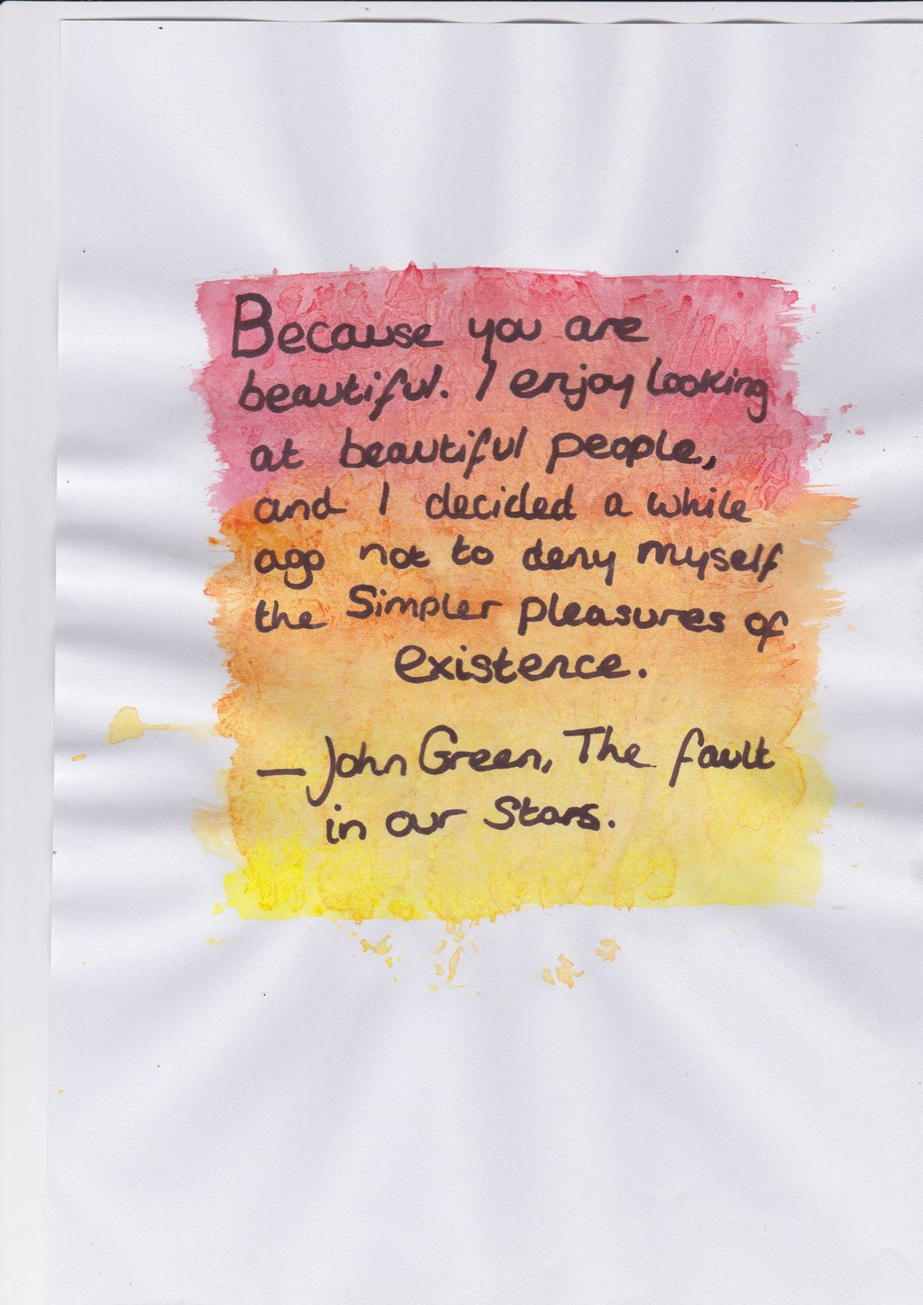 quotes about books john green - photo #41