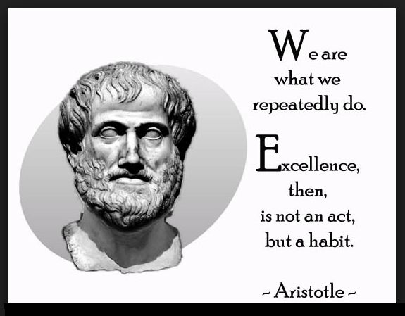 Aristotle Quote About Practice: Quotes On Virtue Ethics. QuotesGram