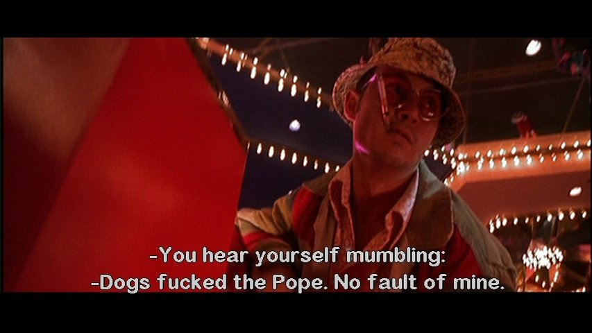 on the road and fear and loathing in las vegas analysis Although thompson subtitled fear and loathing 'a savage journey to  mint 400  (a huge off-road motorcycle race) for an unnamed sporting.