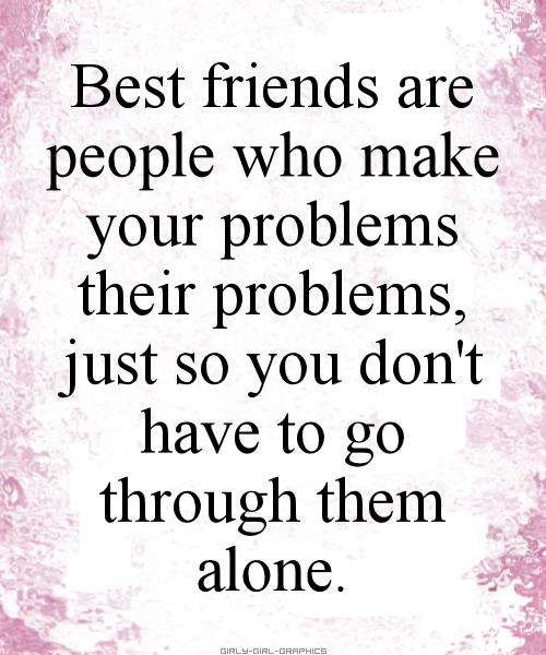 Friend Quotes Alone: Friends Vs Best Friends Quotes. QuotesGram