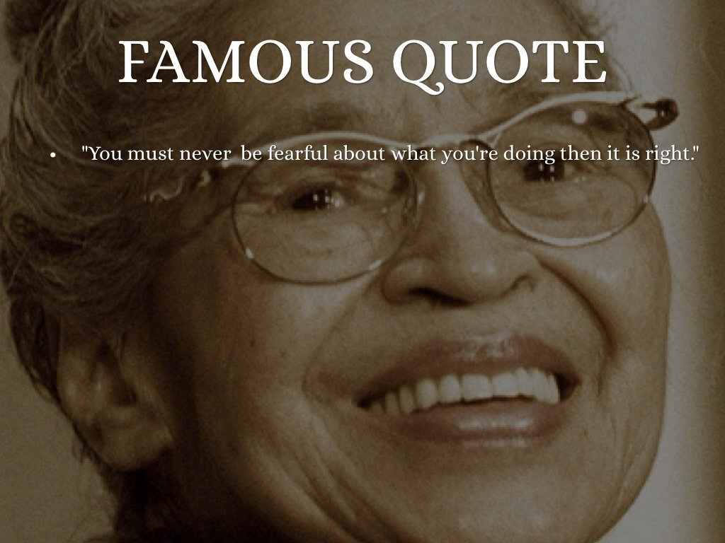 From Rosa Parks Quotes Quotesgram