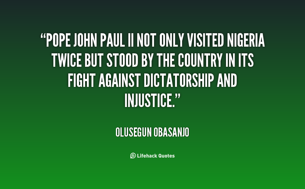 Pope John Paul Ii Quotes Youth: John Paul Ii Quotes Inspirational. QuotesGram