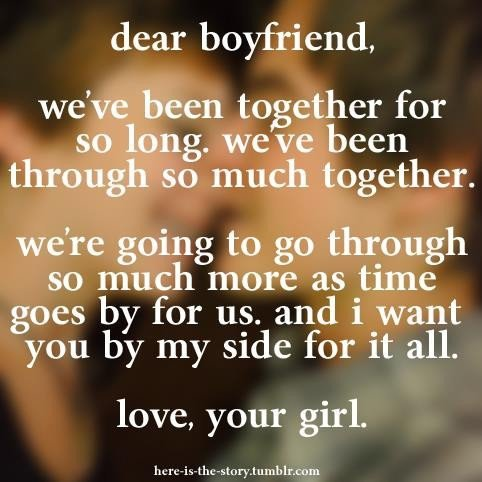 dating exclusively boyfriend girlfriend quotes
