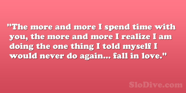 Funny Quotes About Finding Love Again : Never Fall In Love Quotes. QuotesGram