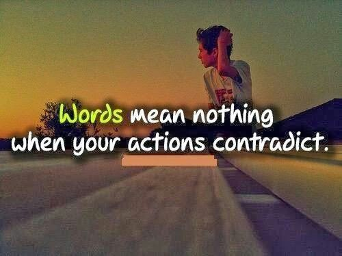 Words Mean Nothing Quotes: Words Mean Nothing Quotes. QuotesGram
