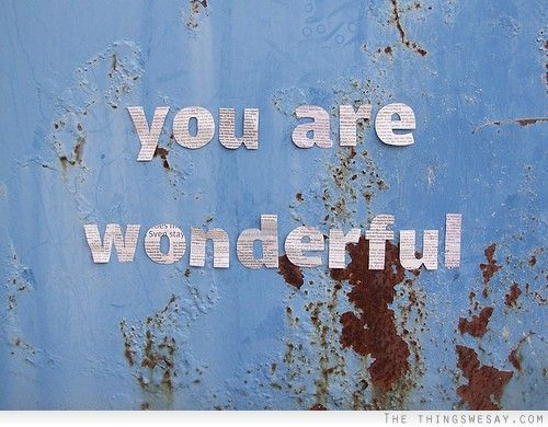 You Are Wonderful Quotes. QuotesGram