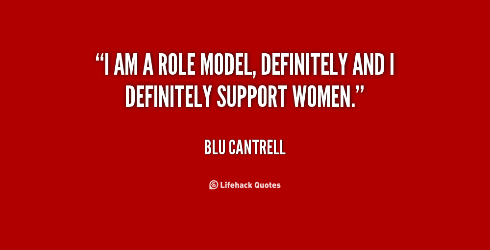 Women Role Model Quotes. QuotesGram