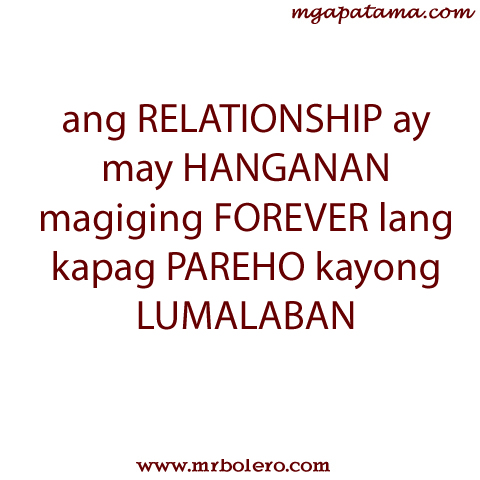 blog about love and relationship tagalog quotes