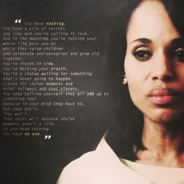 scandal tv show quotes quotesgram