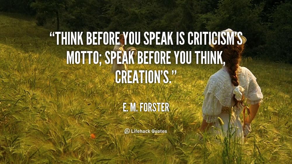 Before You Speak Quotes. QuotesGram