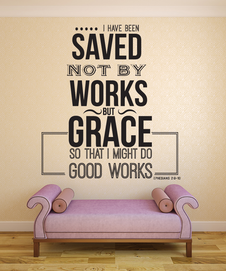 scripture wall vinyl quotes quotesgram. Black Bedroom Furniture Sets. Home Design Ideas