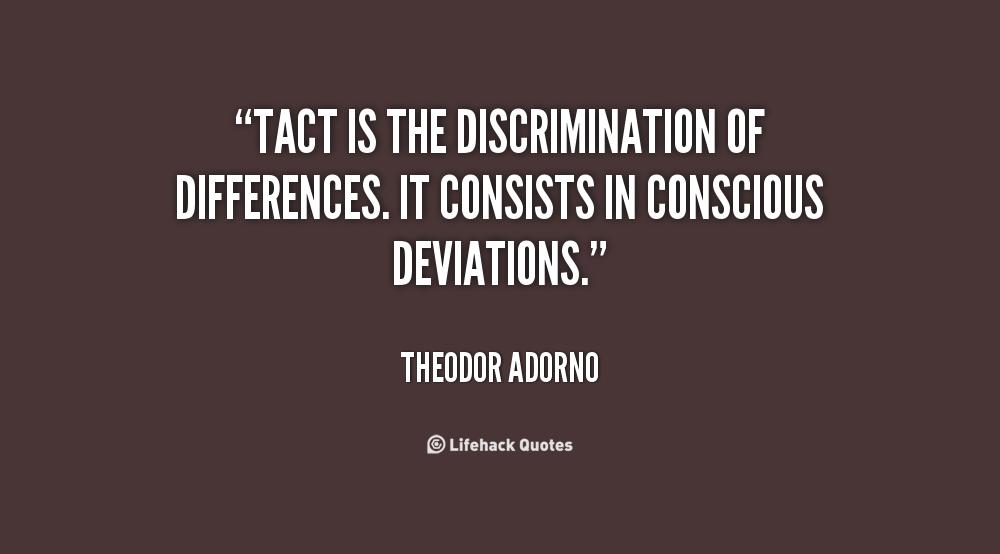 Discrimination Quotes Quotesgram
