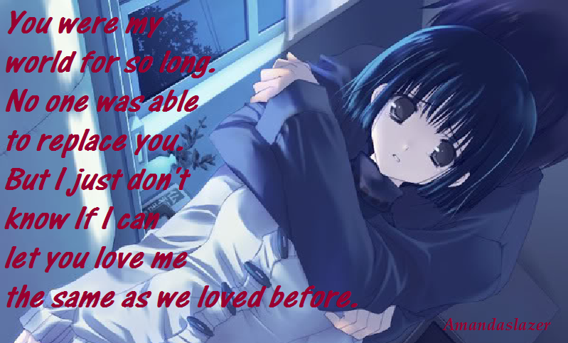 anime couple i love you quotes quotesgram