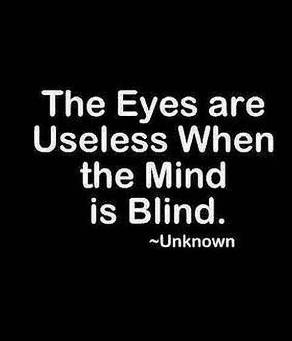 the minds eye what the blind